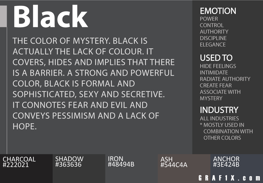 Black color meaning
