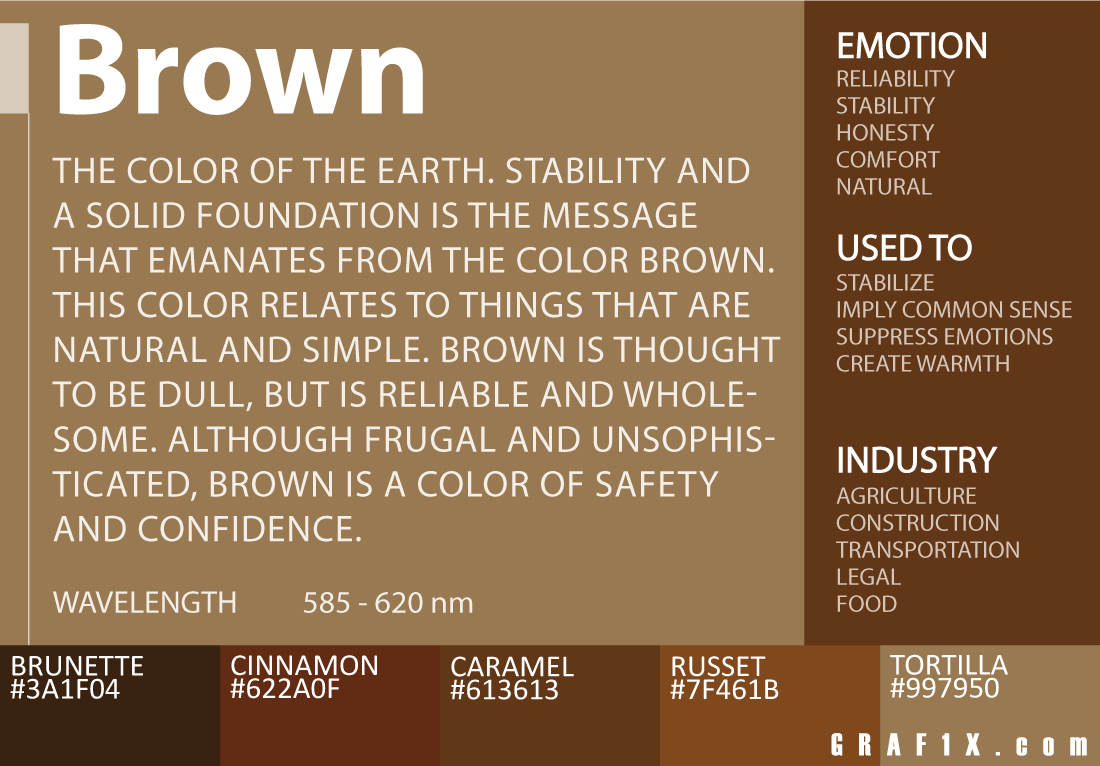 Brown Color Meaning