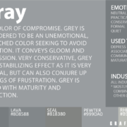 gray color meaning