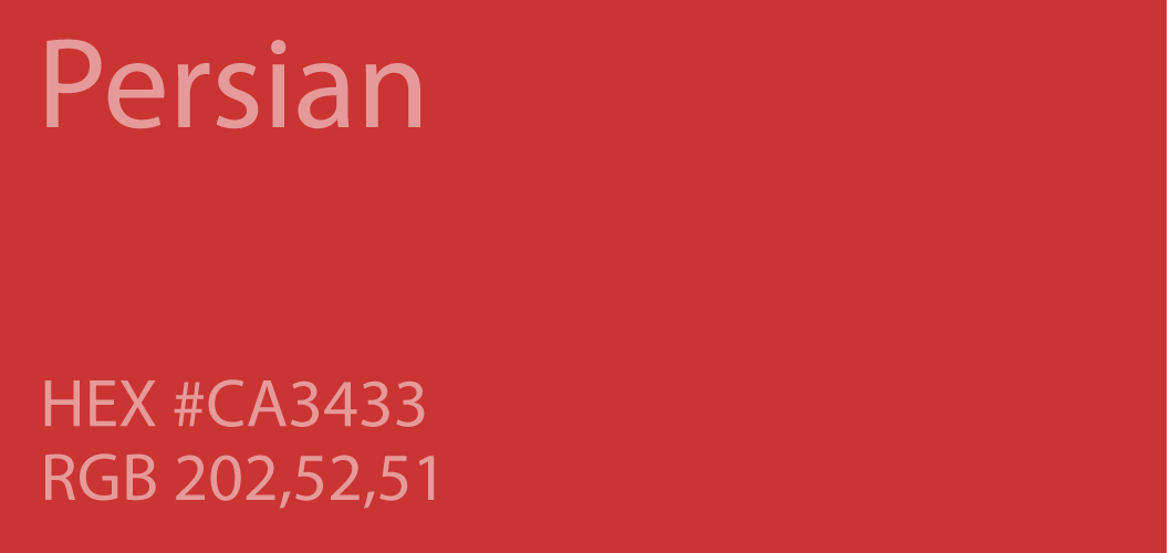 persian red color code rgb html hex