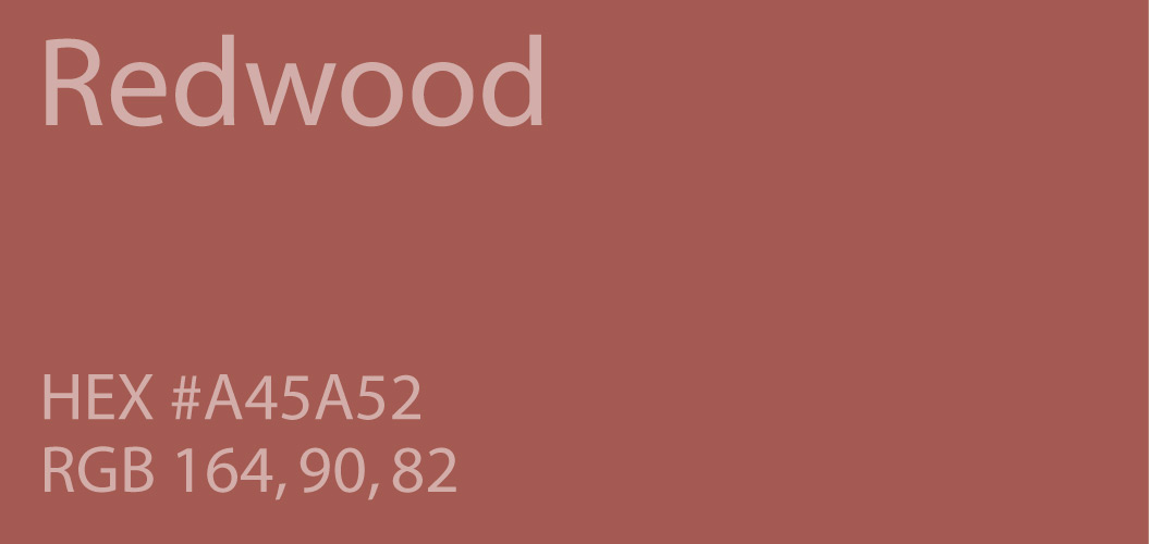 Redwood color code hex rgb