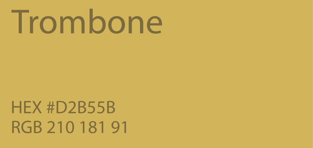 Trombone Color Hex D2B55B