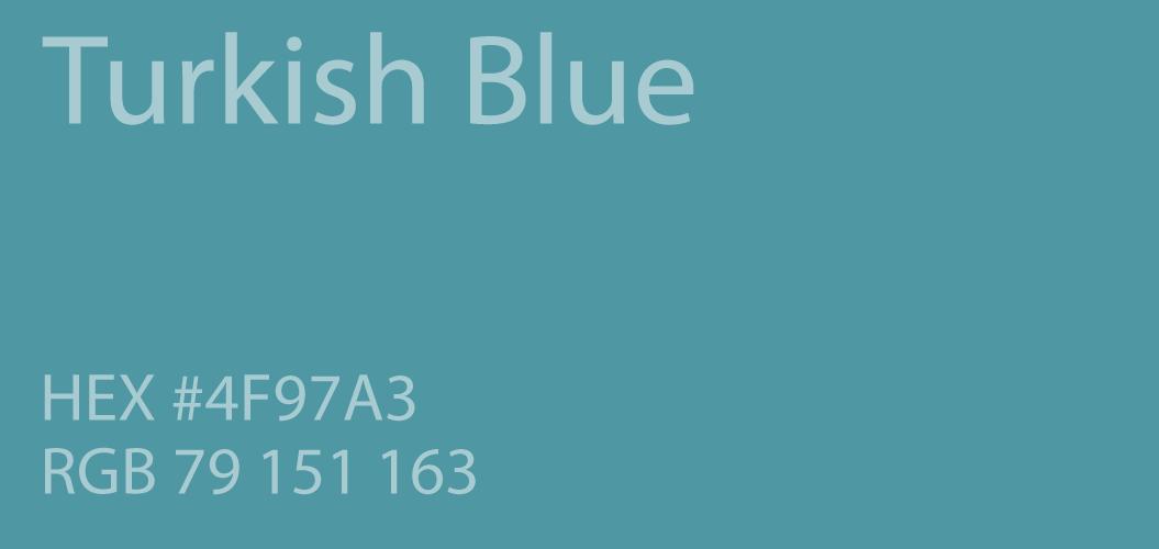 Turkish Blue Color