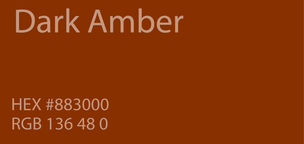 dark amber color