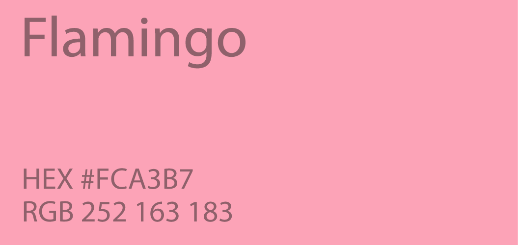 flamingo color