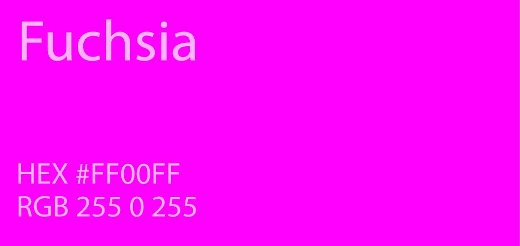 Fuchsia Paint Code