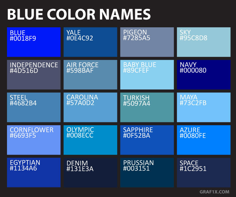 List Of Colors With Color Names Graf1x Com,What Color To Paint Exposed Basement Ceiling